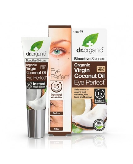 Organic Virgin Coconut Oil - Eye Perfect - Dr.Organic