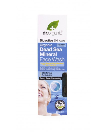 Organic Dead Sea Minerals - Face Wash - Dr.Organic