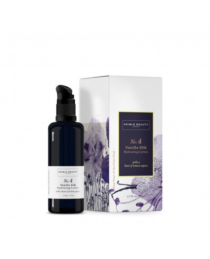 No.4 VANILLA SILK HYDRATING LOTION - EDIBLE BEAUTY