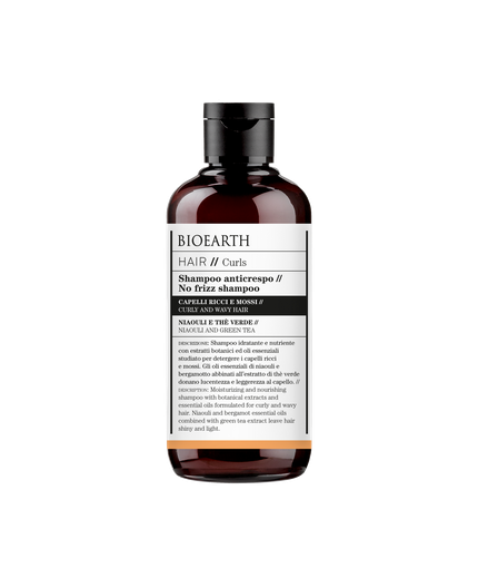 Bioearth Hair 2.0 Shampoo Anticrespo - BIOEARTH